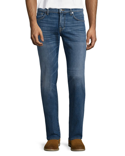 Luxe Performance: Standard Halogen Jeans, Light Blue