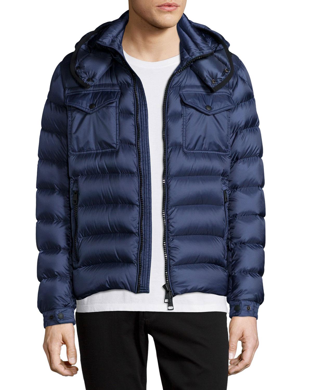 9a3dbc1b4 Edward Hooded Puffer Jacket, Blue