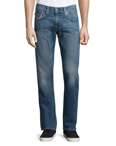 Ricky Medium-Wash Denim Jeans, Medium Blue