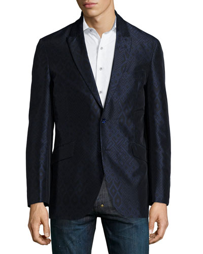 Albert Geo-Print Sport Coat, Multi