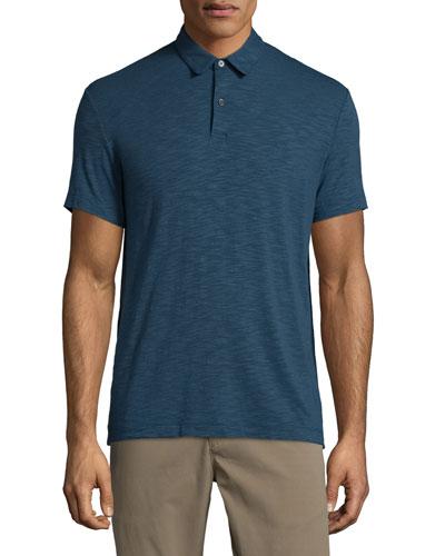 Bron Short-Sleeve Jersey Polo Shirt, Beyond