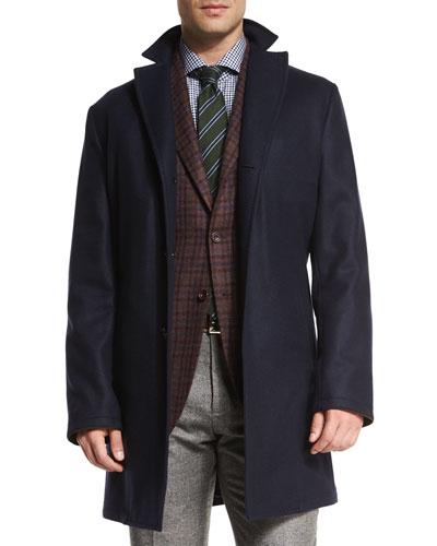 Men S Overcoats Amp Top Coats At Neiman Marcus