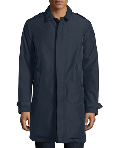 Kensworth Reversible Single-Breasted Jacket, Navy