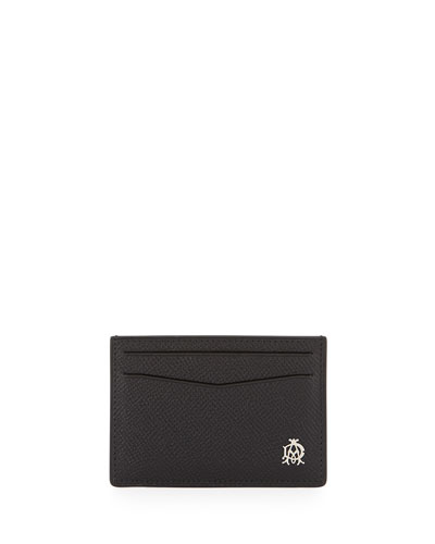 Bourdon Leather Card Case, Black