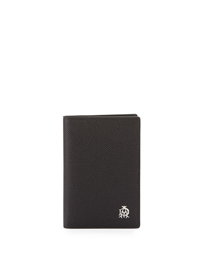Bourdon Leather Business Card Case, Black