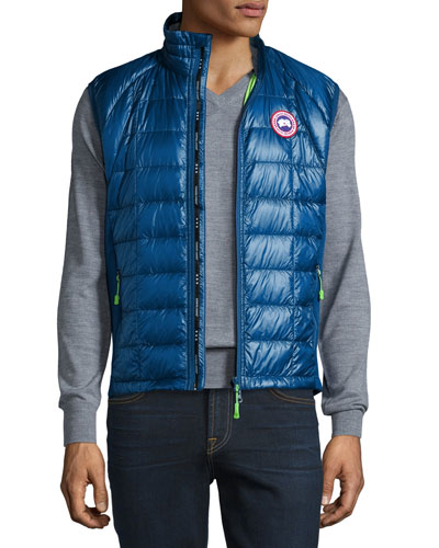 Hybridge Lite Puffer Vest, Midnight Blue