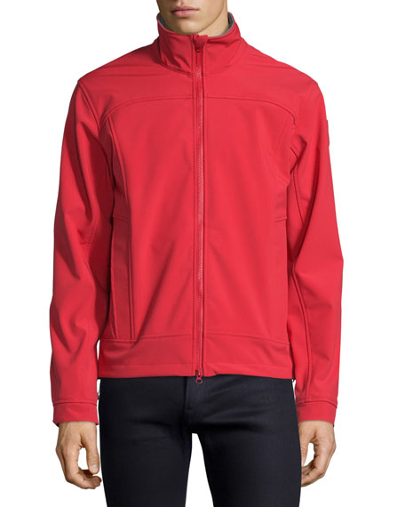 Canada Goose Bracebridge Zip-Up Jacket, Red