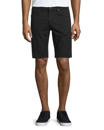 Tyler Slim-Fit Denim Shorts, Black