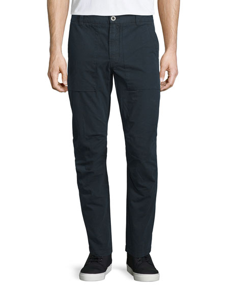 J Brand Hydrox Military-Style Stretch Pants, Depth