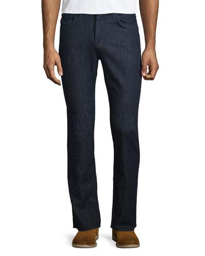 Kane Clean Wash Straight-Leg Denim Jeans, Hirsch