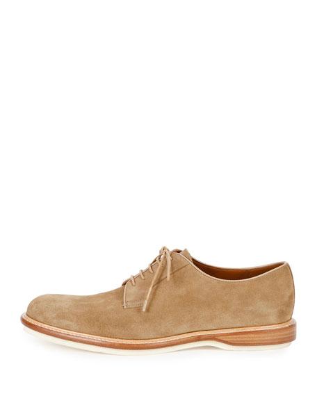 Bally Steve Suede Derby Shoe, Tan