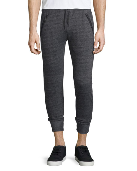 John Varvatos Star USA Textured Knit Drawstring Jogger