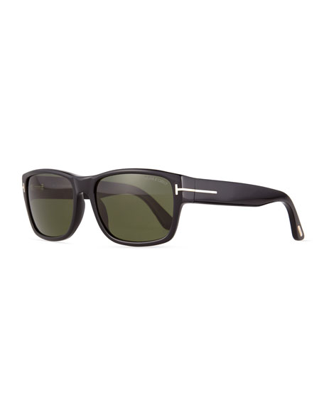 Mason Shiny Sunglasses, Black