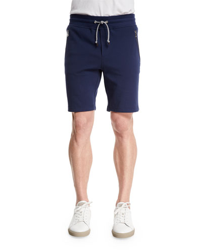 Knit Spa Shorts, Ocean/Ardesia