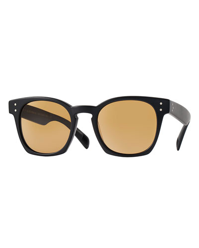 Oliver Peoples Byredo 50 Photochromic Sunglasses, Black
