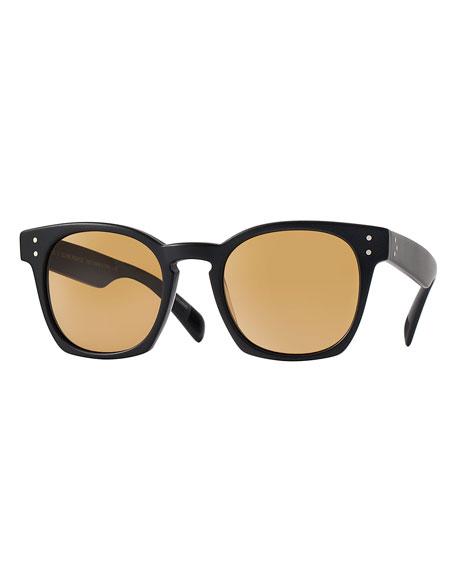 Oliver Peoples Byredo 50 Photochromic Sunglasses, Black