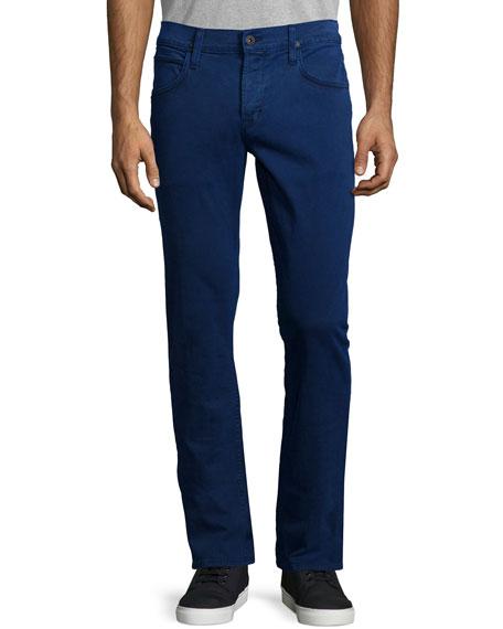 Hudson Blake Slim-Straight Denim Jeans, Blue