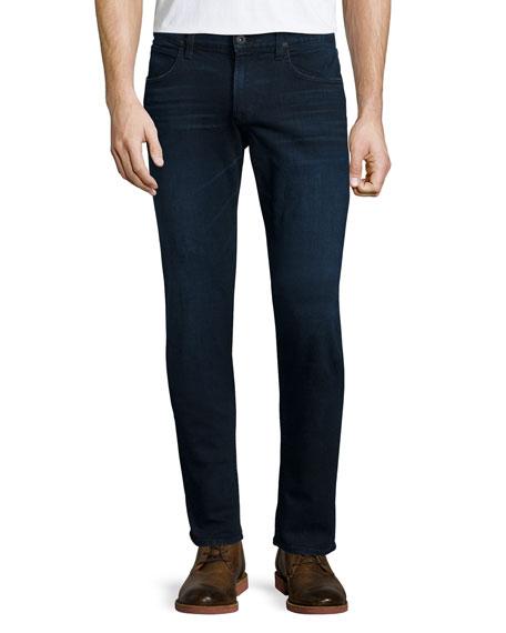 Hudson Jeans Blake Solstice Slim-Straight Denim Jeans, Dark