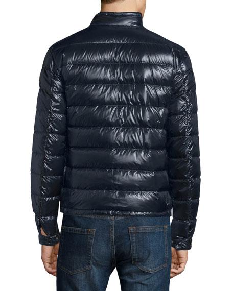 Acorus Zip-Up Puffer Jacket, Navy