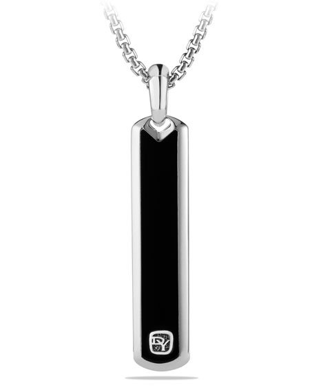 David Yurman Exotic Stone Tag with Black Onyx