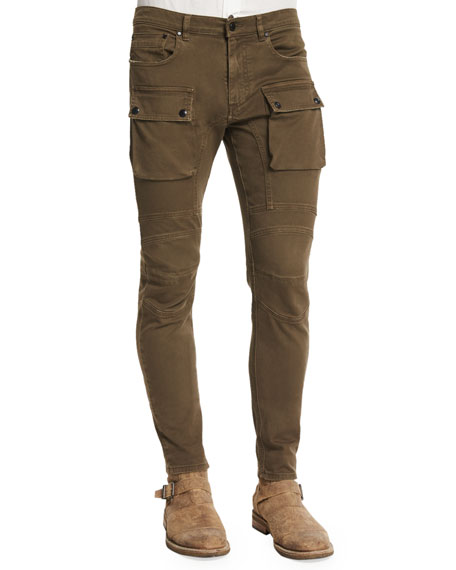 Belstaff Felmore Slim-Fit Cargo Pants, Sable