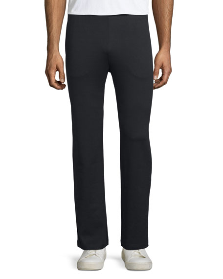 Ermenegildo Zegna Jersey Track Pants, Black