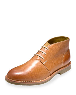 Glenn Leather Chukka Boot, British Tan