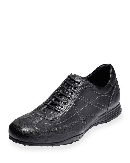 Cole Haan Granada Sport Leather Oxford Sneaker, Black