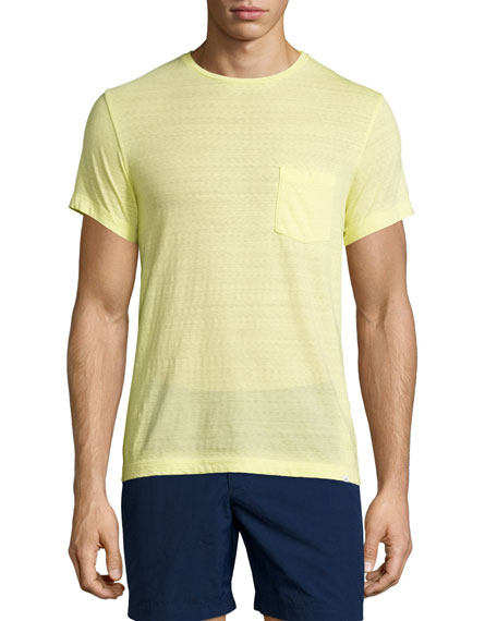 Orlebar Brown Sammy II Short-Sleeve T-Shirt, Limelight