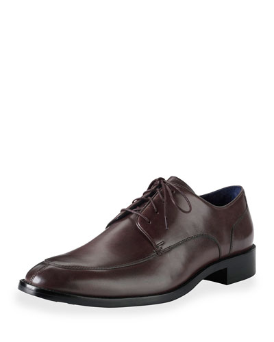 Lenox Hill Split Leather Oxford, T Moro