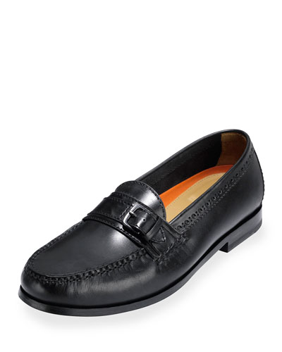 Pinch Grand Leather Loafer, Black