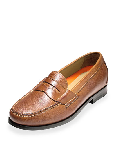 Pinch Grand Leather Penny Loafer, British Tan