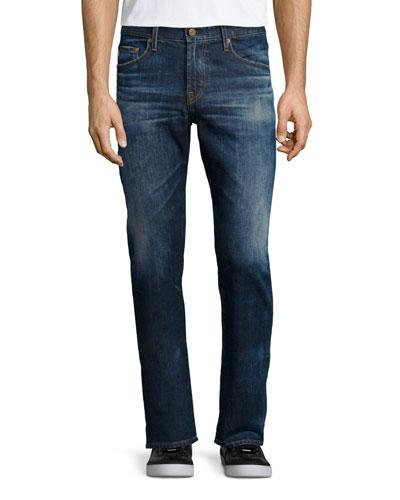 Graduate 10-Years Ansel Denim Jeans, Medium Blue Vintage