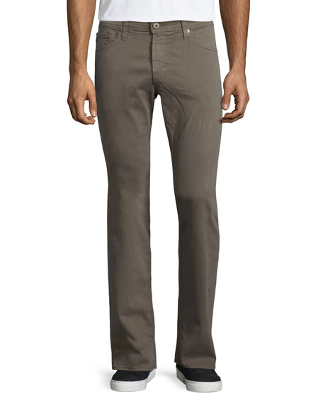 AG Adriano Goldschmied Graduate Sud Dark Taupe Jeans