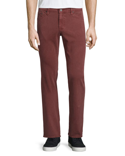 Graduate Sulfur Sumac Jeans, Washed Bright Red