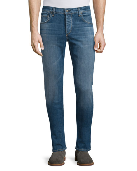 Rag & Bone Lawson Low-Rise Slim Jeans, Denim