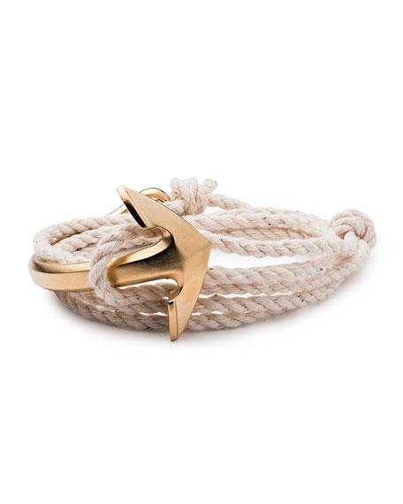 Miansai Men's Half-Anchor Rope Bracelet