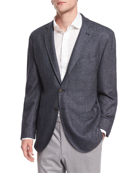 Robert Talbott Lightweight Dyed Sports Blazer, Midnight