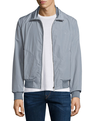 Bradford Lightweight Blouson Jacket, Light Gray