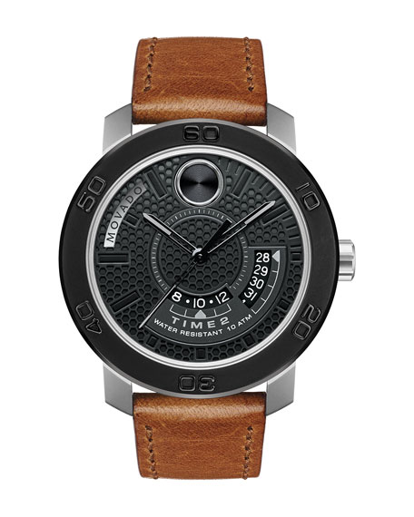 46mm Bold Dual-Time Watch