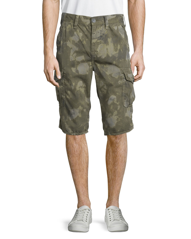 fd403df1c True Religion Trooper Camo-Print Cargo Shorts