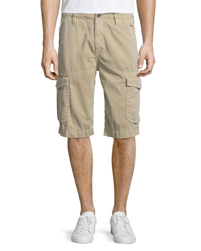 Trooper Cargo-Style Shorts, Incense
