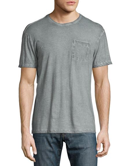 John Varvatos Star USA Cold-Dye Short-Sleeve Pocket T-Shirt,