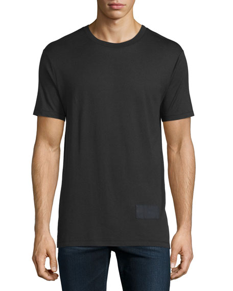 Alexander Wang Short-Sleeve Jersey T-Shirt, Black