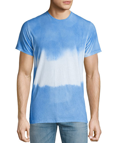 Tie-Dye Short-Sleeve T-Shirt, Bright Blue