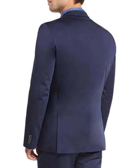 ccda6510 Boss Hugo Boss Hutson Gander Slim-Fit Two-Piece Suit, Navy