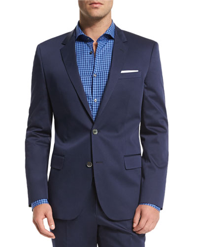Hutson Gander Slim-Fit Two-Piece Suit, Navy