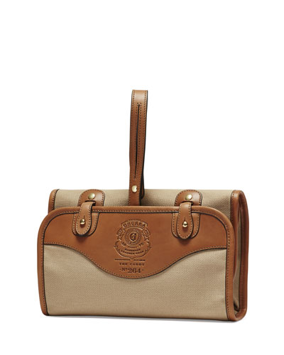 Caddy No. 264 Travel Dopp Kit, Khaki Twill