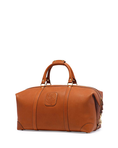 GhurkaCavalier III No. 98 Large Leather Duffel Bag,