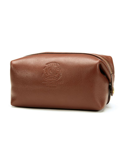 Holdall No. 101 Travel Dopp Kit, Chestnut